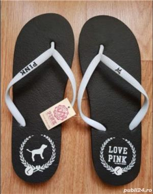 Slapi papuci Victoria Secret Pink, 36/37 - imagine 1