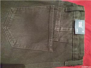 Pantaloni Blugi negri 42 - NOI - cu Etichetă - imagine 4