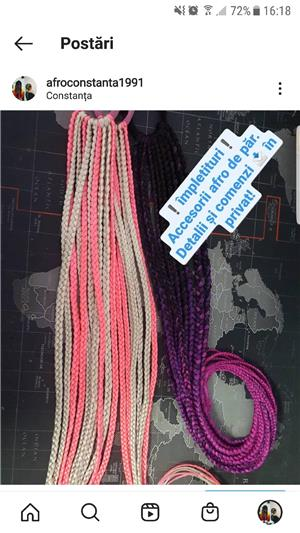 accesorii afro de păr - imagine 5