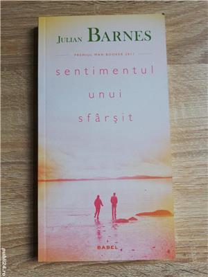 Cărți Julian Barnes (Niveluri de viață, Trois, Sentimentul unui sfârșit, Porcul Spinos) de la 10 lei - imagine 4