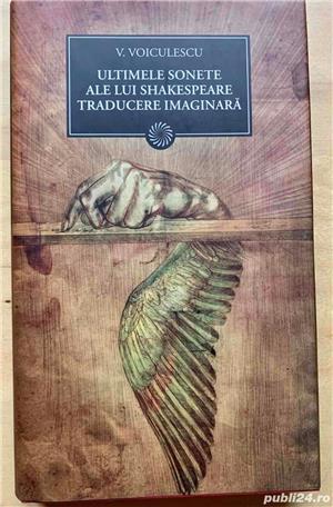 V. Voiculescu: Zahei Orbul, Ultimele sonete ale lui Shakespeare etc - imagine 4