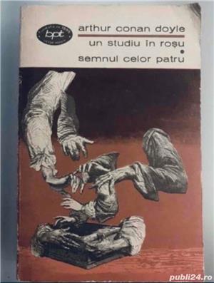 Un studiu in rosu * Semnul celor patru, de Arthur Conan Doyle - imagine 1