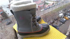 Bocanci, cizme Sorel, unisex, mar 39 (24.5 cm), made in Vietnam. - imagine 3