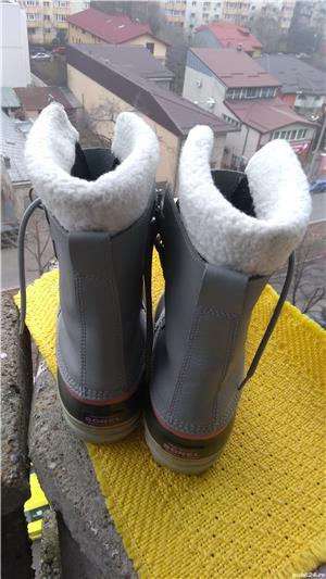 Bocanci, cizme Sorel, unisex, mar 39 (24.5 cm), made in Vietnam. - imagine 4