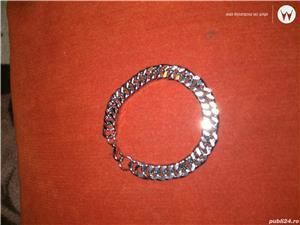 Vand bratari argint si inox,modele pentru femei/barbati/unisex  - imagine 3