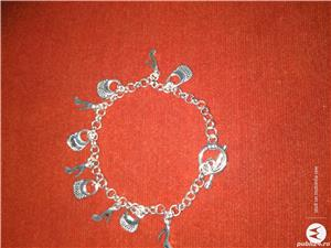 Vand bratari argint si inox,modele pentru femei/barbati/unisex  - imagine 7
