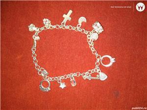 Vand bratari argint si inox,modele pentru femei/barbati/unisex  - imagine 10
