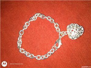 Vand bratari argint si inox,modele pentru femei/barbati/unisex  - imagine 6