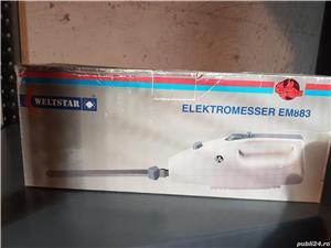 Cutit electric pentru taiat paine Welstar, 100 W, Lame Inox      - imagine 3
