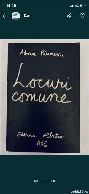 Adrian Paunescu - 9 volume, diverse editii. Detalii in descriere. - imagine 3
