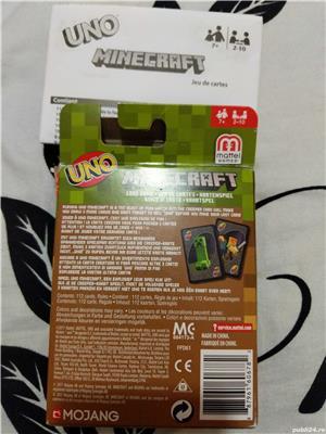 Cărți de joc UNO Minecraft - imagine 2