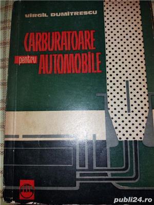 carburatoarele pentru automobile  v. dumitrescu - imagine 1