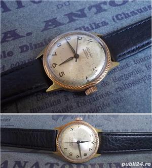 ceas de colectie VILMONT France, cal. LORSA P62, 17 jewels, functional - imagine 2