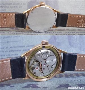 ceas de colectie VILMONT France, cal. LORSA P62, 17 jewels, functional - imagine 3