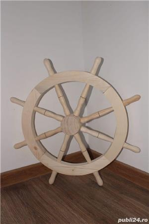 Roată lemn  - imagine 3