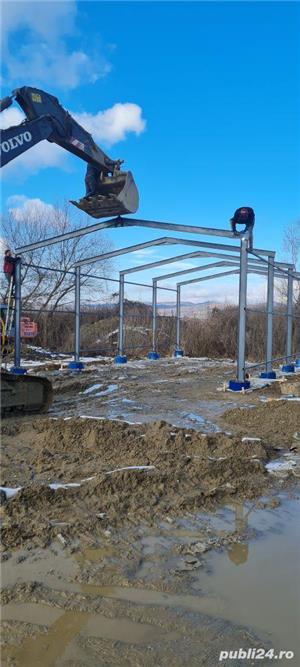 hale metalice industriale la comanda cu montaj inclus - imagine 3