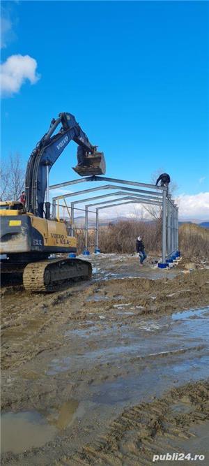 hale metalice industriale la comanda cu montaj inclus - imagine 1