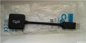 Cablu adaptor display port - vga, nou - imagine 1