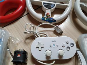 Wii: Controller, volan, pusca, pistol, Motion Plus, nunchuck, husa, snur, mote, Zapper, etc - imagine 3