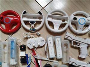 Wii: Controller, volan, pusca, pistol, Motion Plus, nunchuck, husa, snur, mote, Zapper, etc - imagine 2