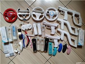 Wii: Controller, volan, pusca, pistol, Motion Plus, nunchuck, husa, snur, mote, Zapper, etc - imagine 10