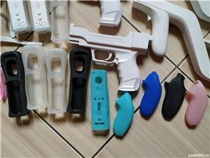 Wii: Controller, volan, pusca, pistol, Motion Plus, nunchuck, husa, snur, mote, Zapper, etc - imagine 7