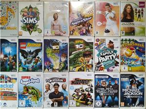 Wii: Wii Play, Sims, Yoga, Sports, Karts, Wario, Ben 10, Lego, Hugo, Circus, Go Diego, Party, etc. - imagine 5