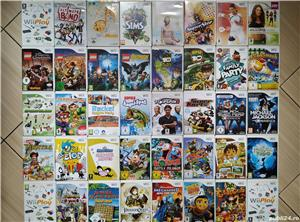 Wii: Wii Play, Sims, Yoga, Sports, Karts, Wario, Ben 10, Lego, Hugo, Circus, Go Diego, Party, etc. - imagine 1