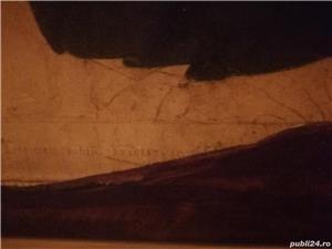 tablou portret  si icoana veche catolica pe lemn din zona ardealului - imagine 5