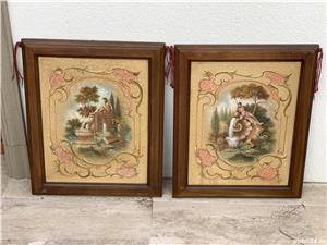 Doua tablouri ulei pe placaj - imagine 2