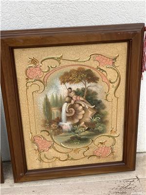 Doua tablouri ulei pe placaj - imagine 5