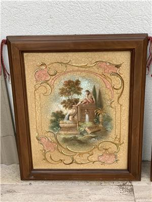 Doua tablouri ulei pe placaj - imagine 3