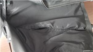 Geaca barbateasca din piele naturala - imagine 3
