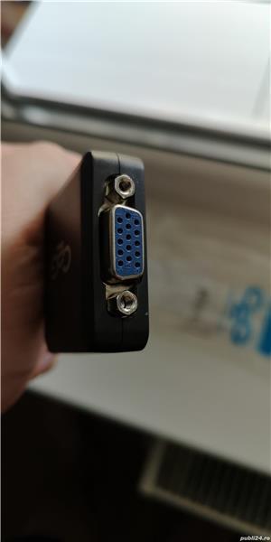 Cablu adaptor display port - vga, nou - imagine 3