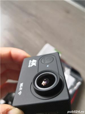 Camera video sport 4k Ultra HD Waterproof + 2 baterii rezerva + husa transport - Fara Card SD - imagine 9