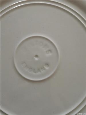 Platou vintage MCM portelan englezesc 28,5 cm - imagine 3