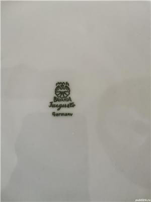 Platou vintage portelan Bavaria Mid Century Modern 27 cm - imagine 2