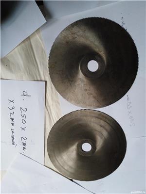 Pinze de debitat metal diametru 250mm. - imagine 1