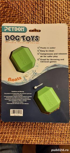 Jucarie plutitoare pentru câini  - imagine 2