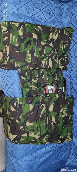 Tinuta NOUA costum militar army ristop padure mozaic vanatoare airsoft paintball pescuit munca - imagine 5