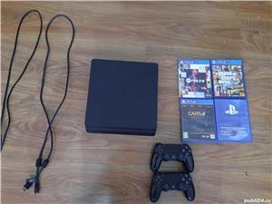 Vand Playstation4,kit complet +3 jocuri si doua joystick-uri - imagine 1