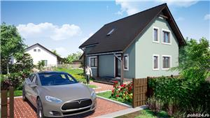 Vand proiect complet pentru o casa unifamiliala Parter + Mansarda - imagine 6