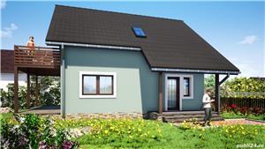 Vand proiect complet pentru o casa unifamiliala Parter + Mansarda - imagine 4