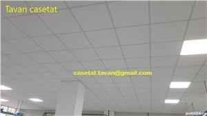 Tavan Casetat Placi Minerale Knauf Armstrong - montajul inclus - tavan la cheie - imagine 6