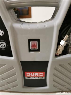Compresor aer fara ulei Duro Pro, cu piston 1100W, 8bar, 180l/min, 9 accesorii - imagine 3
