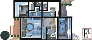 Casa/vilă de vanzare, 4cam, 204mp construiti, 500mp teren, Balotesti  - imagine 4