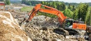 Închiriez utilaje constructii,buldo-excavator,miniexcavator,Bobcat,cilindru - imagine 7