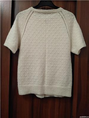 Jacheta cardigan tricotat manual UNICAT handmade - imagine 4