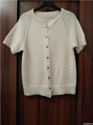 Jacheta cardigan tricotat manual UNICAT handmade - imagine 1