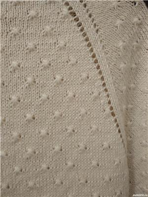Jacheta cardigan tricotat manual UNICAT handmade - imagine 2